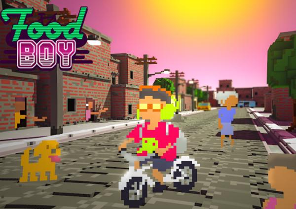 Foodboy: Game brasileiro inspirado no clássico Paperboy
